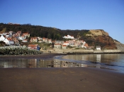 Runswick Bay, a gorgeous fishing village further up the coast.